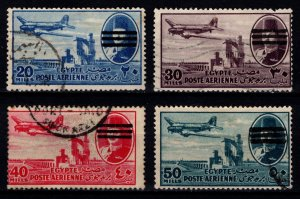Egypt 1953 Air issue of 1947 with Farouk Portrait Obliterated [Used]