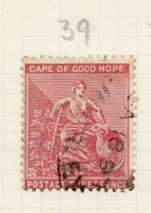 Cape of Good Hope 1880 Early Issue Fine Used 3d. 284450