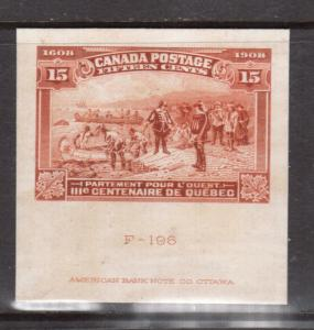 Canada #102DP Large Die Proof With ABN Imprint