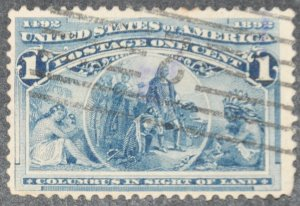 DYNAMITE Stamps: US Scott #230 – USED