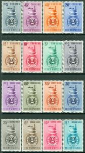 EDW1949SELL : VENEZUELA 1951 Scott #478-84, C356-64 Cplt set VF MNH Catalog $104