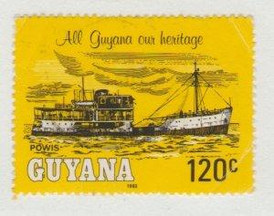 Guyana 663 River Steamers