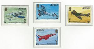 Jersey  mnh sc  133 - 136