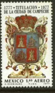 MEXICO C545 200th Anniv of the naming of Campeche MINT, NH. VF.