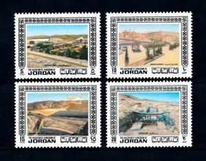 [91665] Jordan 1973 Industries Mining Dam Cement Factory  MNH