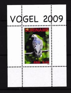 [SU1585] Suriname Surinam 2009 Birds Oriental Turtle Dove Souvenir Sheet MNH
