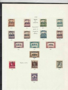 croatia stamps page ref 16971