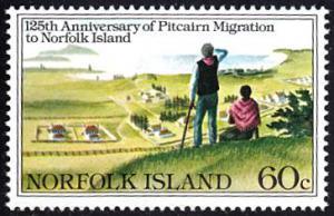 Norfolk Island # 279 mnh ~ 60¢ Migration - Settlement
