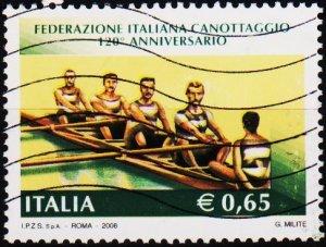 Italy. 2008 65c Fine Used