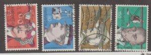 Switzerland Scott #620-623 Stamps - Used Set
