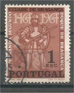 PORTUGAL, 1965, used 1e, Ferdinand I Scott 945