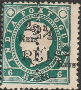 Portuguese India, #278 MNG From 1912-1913