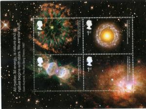 GREAT BRITAIN 2075 MNH S/S SCV $5.00 BIN $3.00 ASTRONOMY