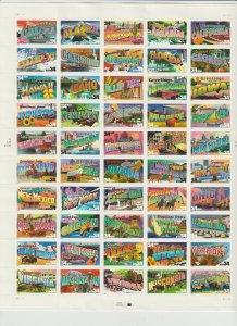 United States  SC 3561-3610a  Full Sheet