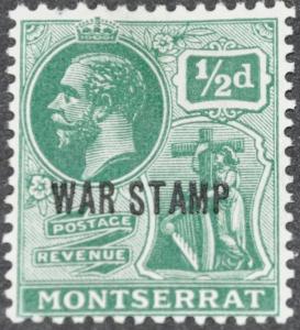 DYNAMITE Stamps: Montserrat Scott #MR2 – MINT hr