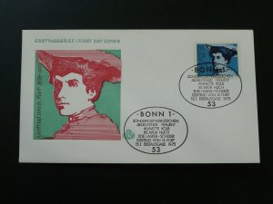 writer Gertrud von Le Fort famous woman FDC 1975 Germany 83588