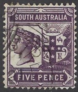 SOUTH AUSTRALIA 110 USED BIN $1.00 ROYALTY
