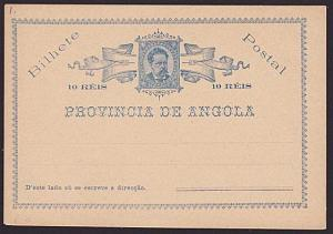 PORTUGAL ANGOLA 10r postcard unused.........................................6712