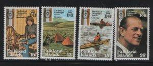 FALKLAND ISLANDS, 327-330, MNH, 1981, DUKE OF EDINBURGHS AWARDS