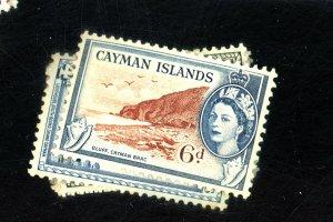 CAYMAN ISLANDS #135-40 142-4 MINT FVF OG LH Cat $25