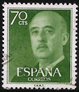 Spain 1954 Scott# 823 Used
