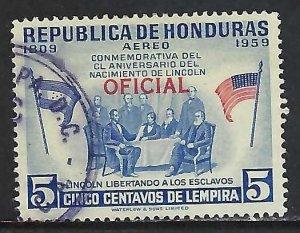 Honduras CO101 VFU Z3548-2