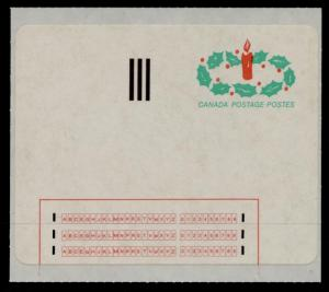 Canada #1-ST MNH Christmas Stick N Tic Labels (1-ST) CV$6