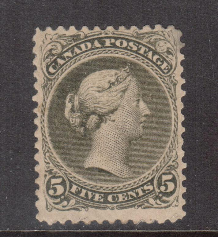 Canada #26 Mint Fine Original Gum Hinged **With Certificate**