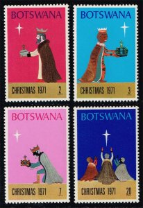 Botswana #80-83 Christmas Set of 4; MNH (1.00)