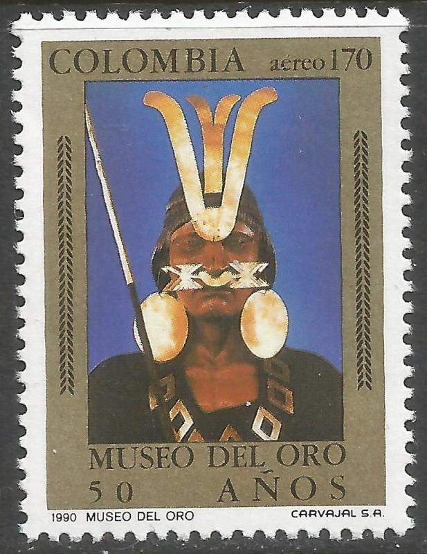 COLOMBIA C833 MNH J1012