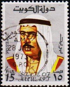 Kuwait. 1969 15f S.G.459 Fine Used