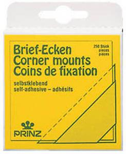 Prinz CORNER MOUNTS - Photo /Cover/FDC  Corners - 1 pack of 250