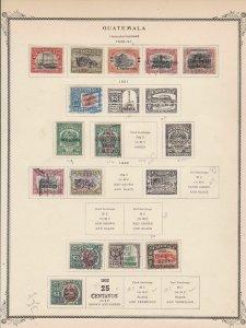 Guatemala Stamps  Ref 15516