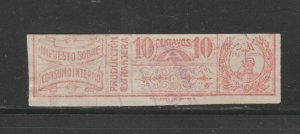 Paraguay Revenue Fiscal Stamp 12-14-20-4a