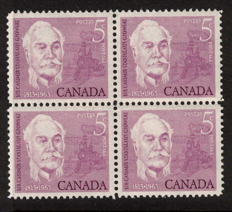 Canada - 1963 Casimir Gzowski - SC410 Mint Block NH