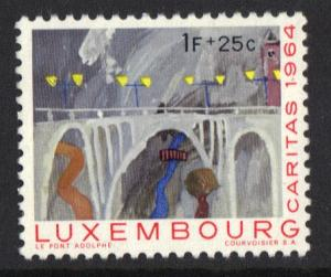 Luxembourg  MNH  1964  caritas  1F   #