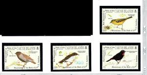 Caicos Is 60-63 MNH 1985 Birds