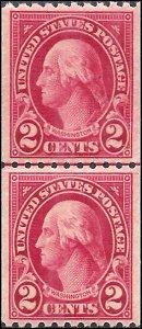 606 Mint,OG,NH... Line Pair... PSE Graded 95... SMQ $175.00