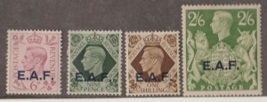 Great Britain Offices Abroad - East Africa Forces Scott #6-9 Stamps - Mint Set