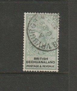 Bechuanaland 1888 QV Defs 1/- FU SG 15