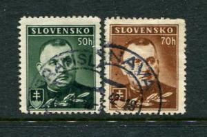 Slovakia #43-a  Used