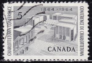 Canada 431 USED 1964 Charlottetown Conference 5¢