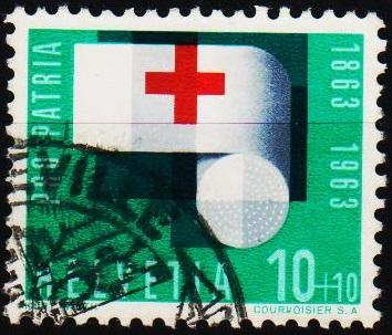 Switzerland.1963 10c+10c S.G.677 Fine Used