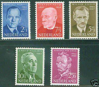 Netherlands Scott B264-8 complete MNH** set CV$29.75