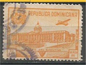 DOMINICANA,  1948, used $1 , Palace Scott C69