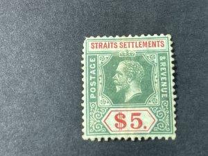 STRAITS SETTLEMENTS # 171--MINT/HINGED**(UPPER LEFT CORNER)**--SINGLE----1912-18