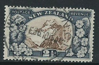New Zealand SG 581 - perf 13 x 13 1/2 Used tiny short top...