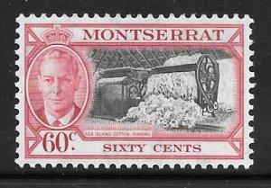 Montserrat 123: 60c Cotton Ginning, MH, F-VF