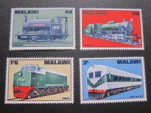 Malawi 1968 Sc 87-90 set MNH