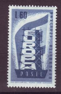 J17189 JLstamps 1956 italy hv of set mnh #716 europa